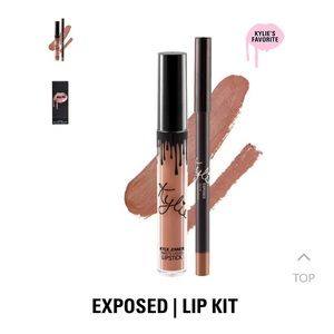 "Kylie Cosmetics Makeup - Kylie Cosmetics ""Exposed"" Matte Liquid Lip Kit"